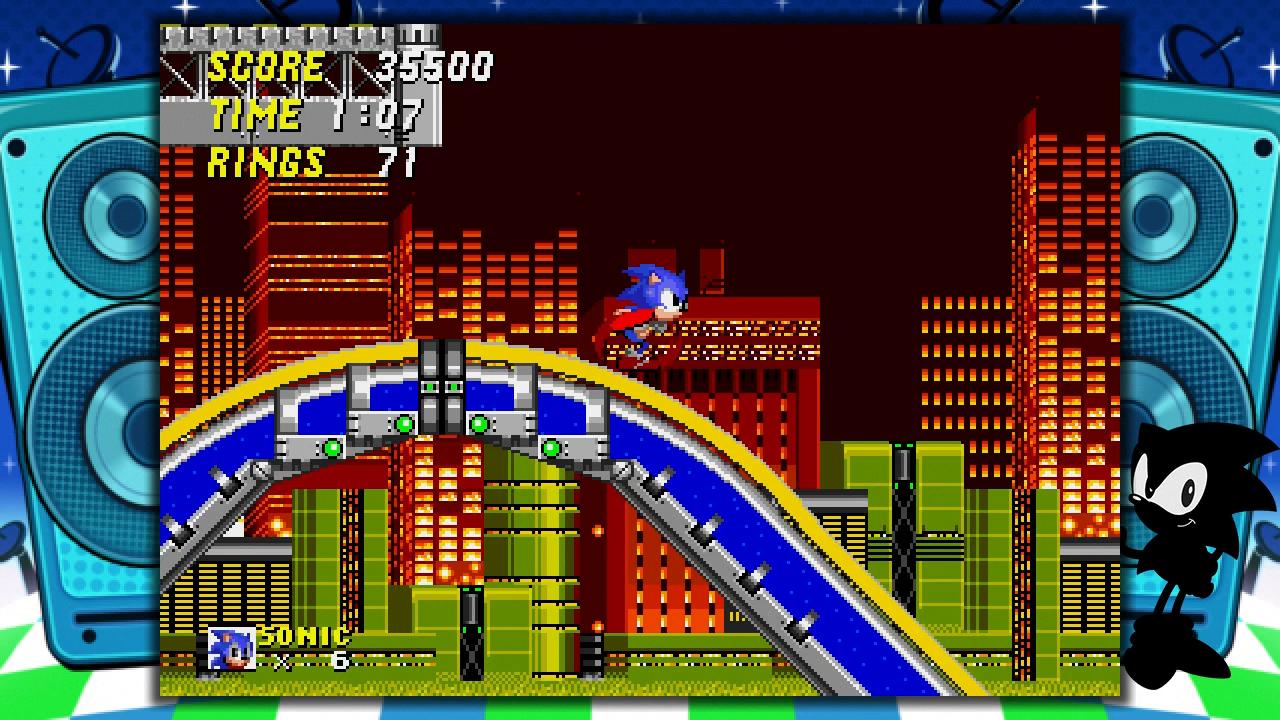 Sonic running in sonic 2