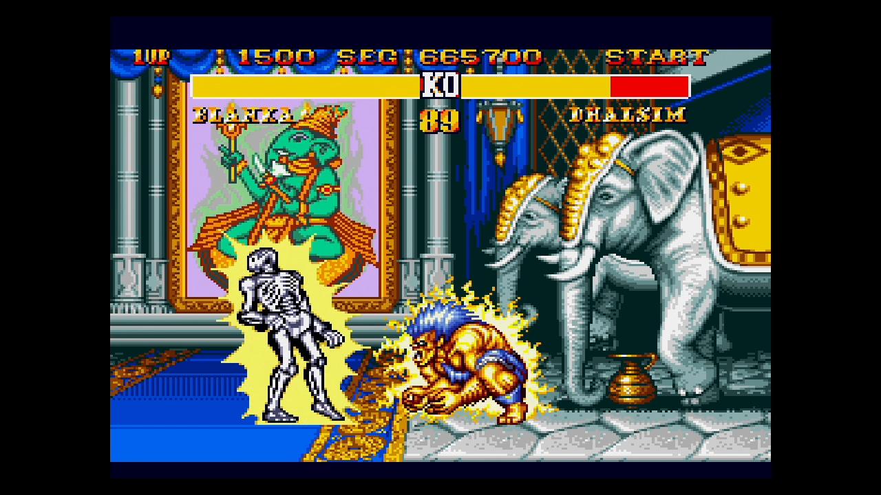 street fighter 2 fight