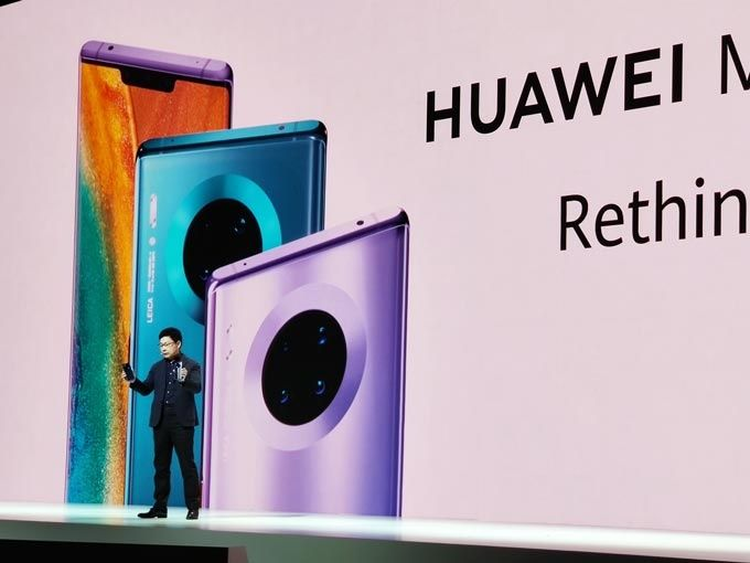 Huawei Mate 30 Pro avslöjas