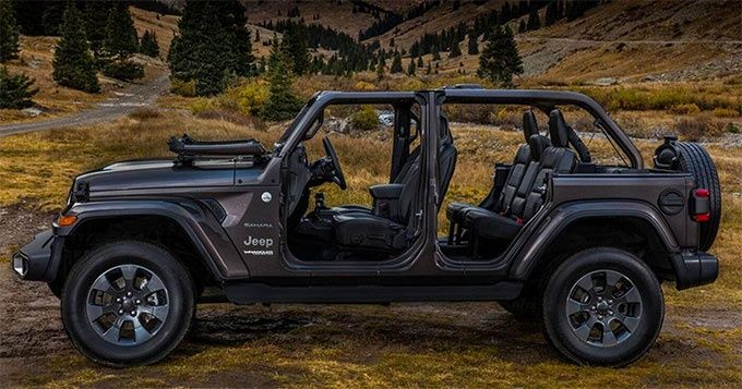 Test Jeep Wrangler