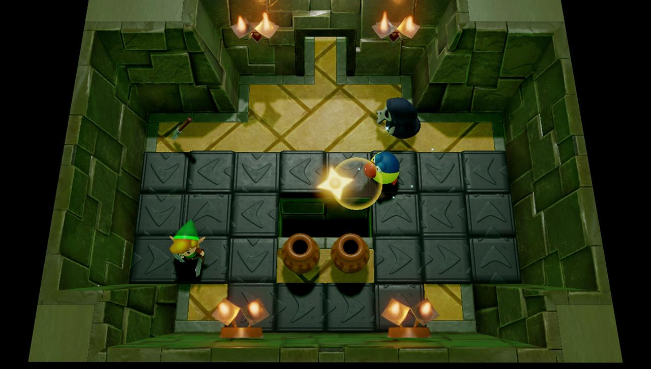 Link in dungeon