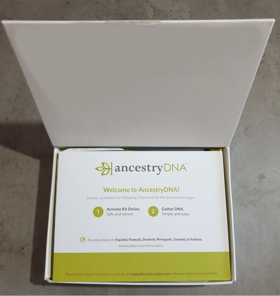Dna-kit ancestry