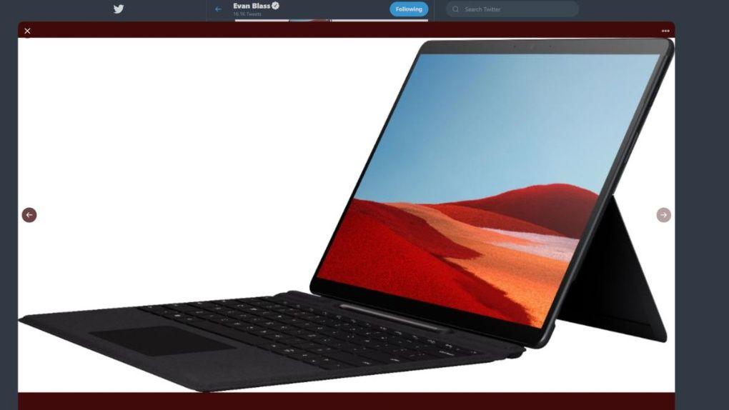 Bildläcka på påstådd Surface med ARM-arkitektur.