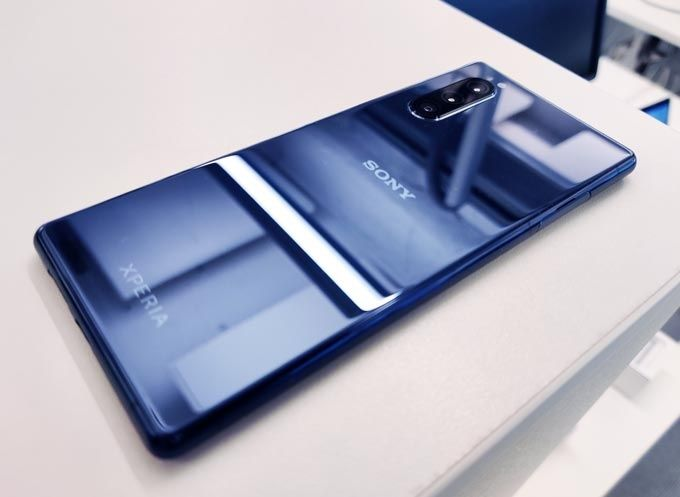 Sony Xperia 5 baksida