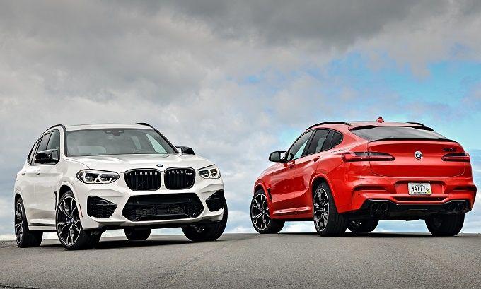 BMW X3 och X4 M Competition