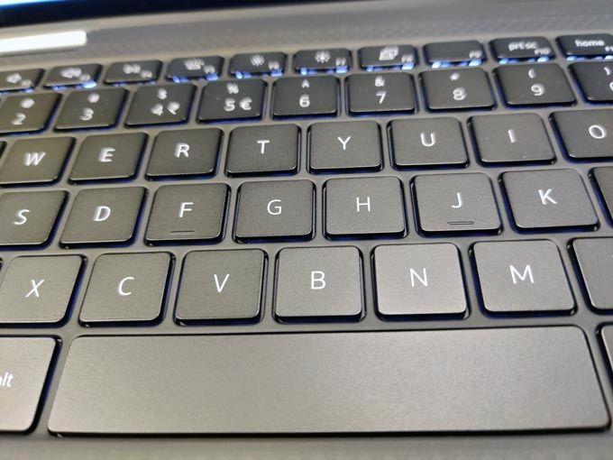 Dell XPS 13 2-i-1 tangentbord