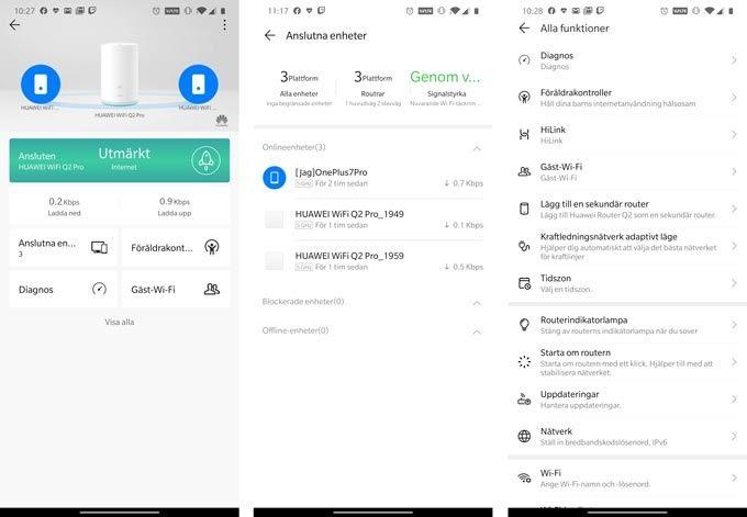 Huawei Wifi Q2 Pro app