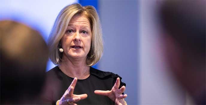 Allison Kirkby som tar över som vd och koncernchef för Telia.