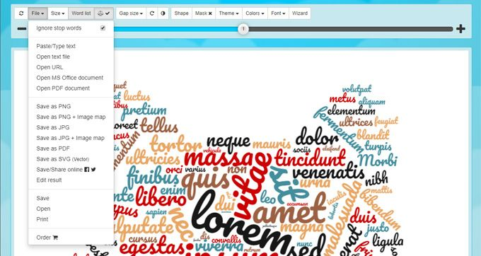 Wordclouds