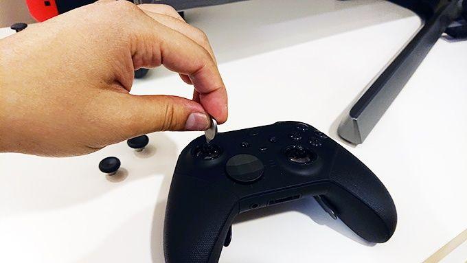 Customizing an elite controllers sticks