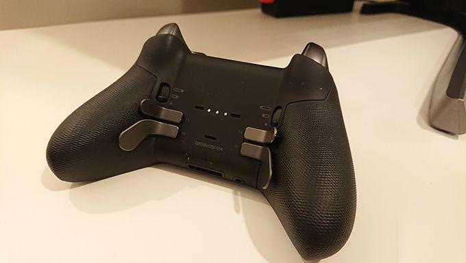Elite controller paddles