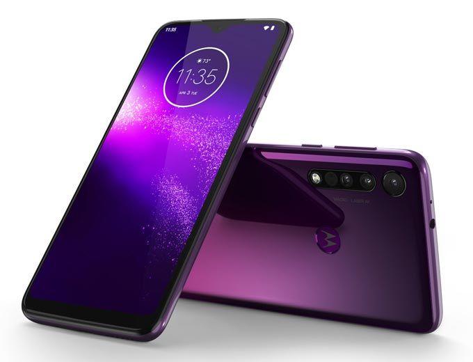 Motorola One Macro Ultra Violet