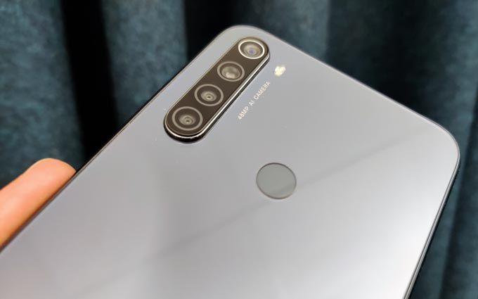 Xiaomi Redmi Note 8T kameror