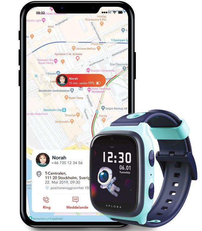 Xplora 4 app