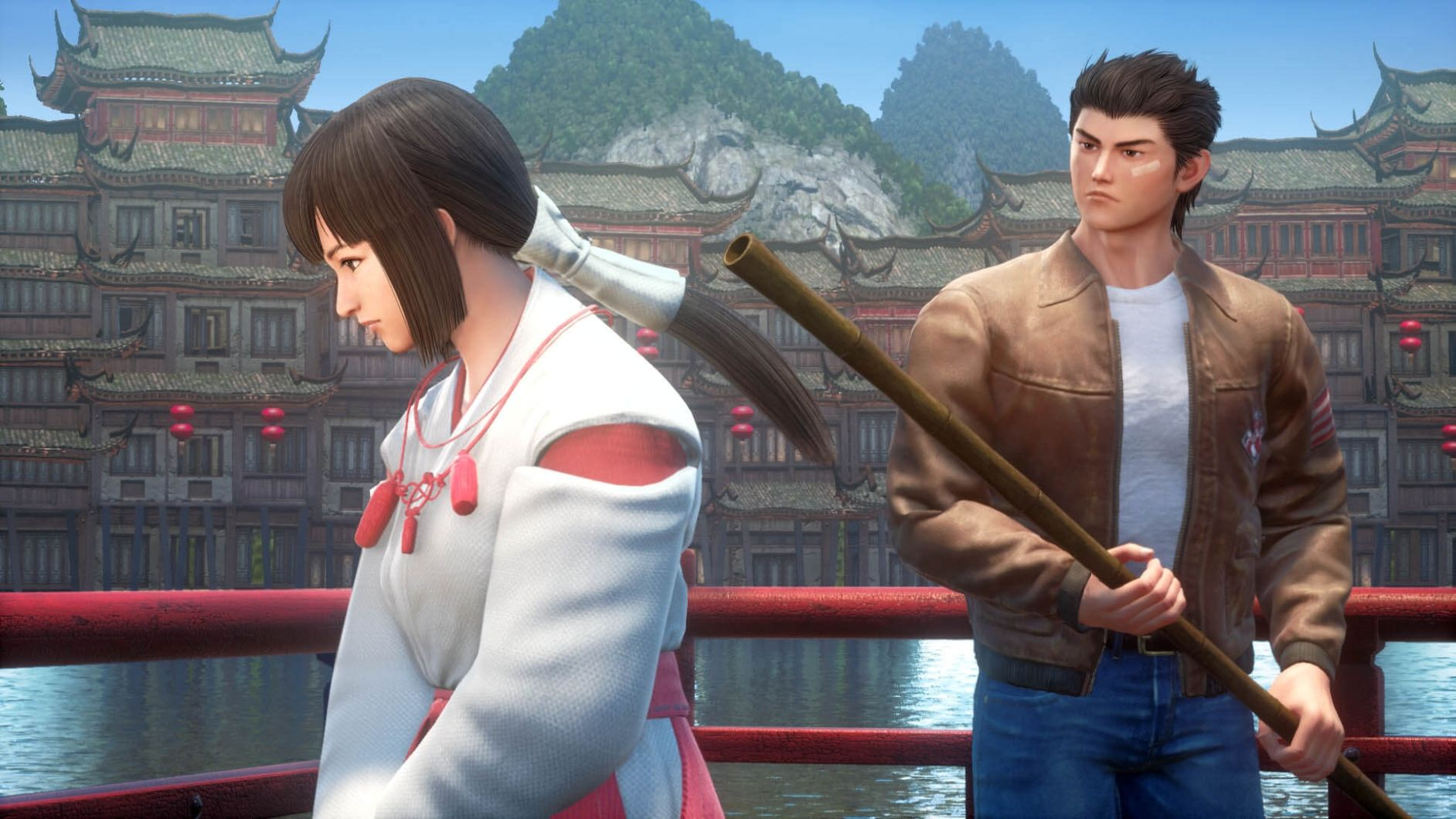 Fight i Shenmue 3