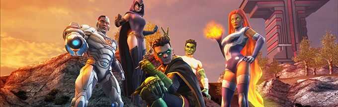 DC universe teen titans