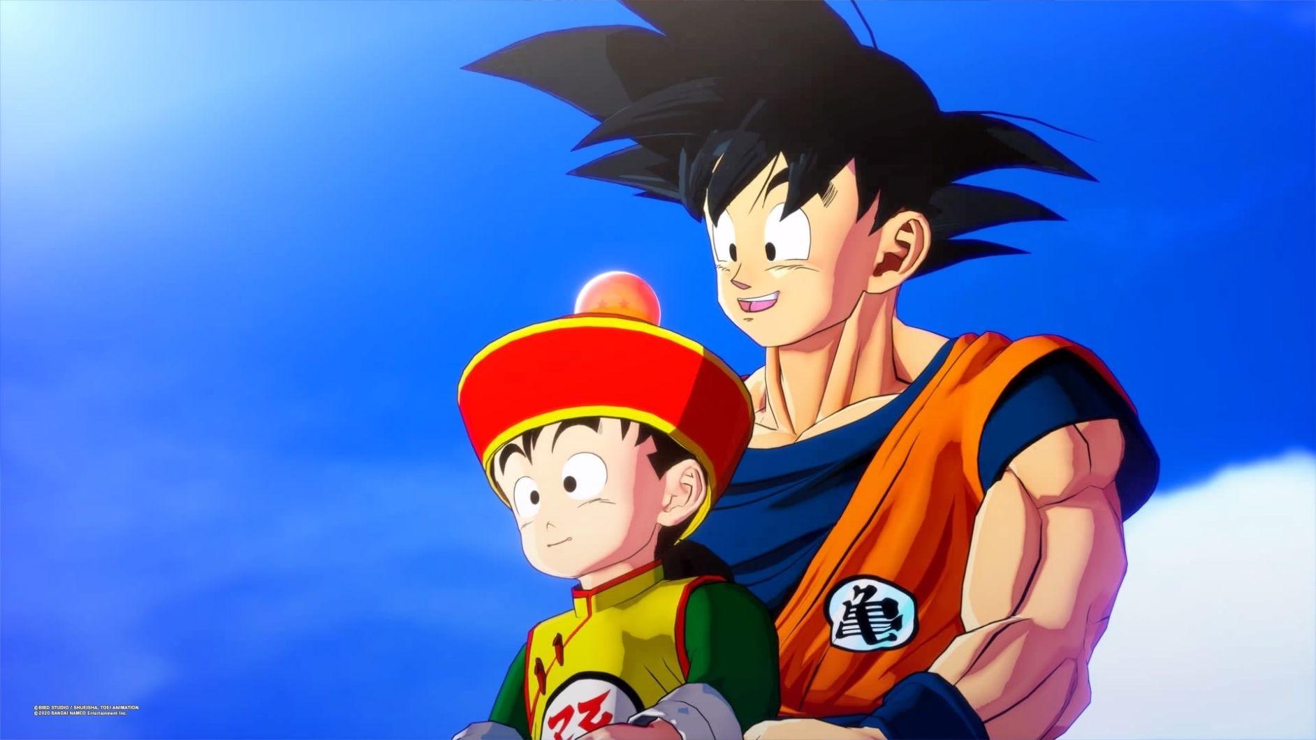 dbz Goku Gohan