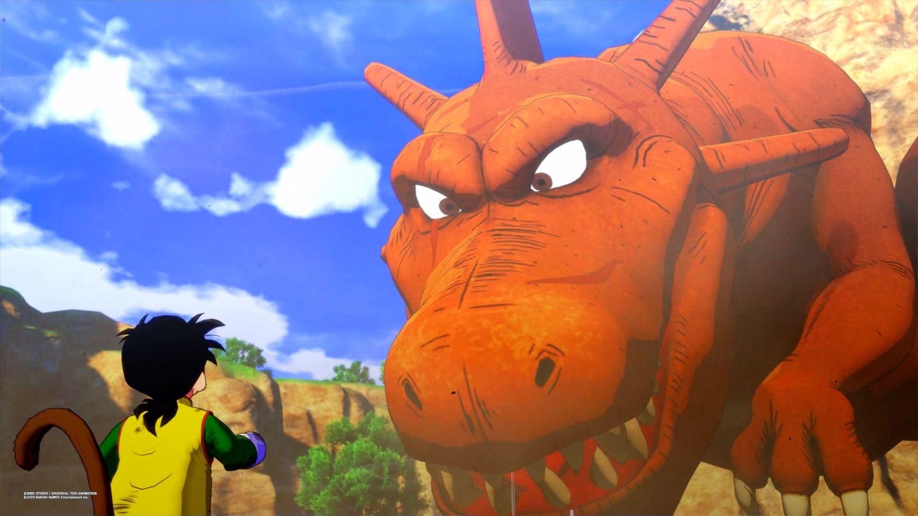 Dragon Ball Kakarot mellansekvens