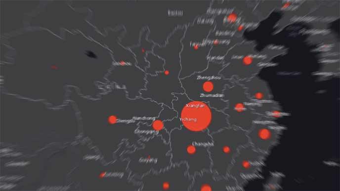 Live Karta Folj Coronavirusets Spridning I Varlden Computer Sweden
