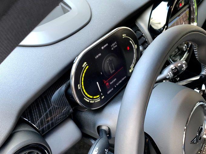 Provkörning av Mini Cooper SE
