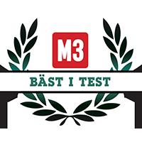 M3 Bäst i test