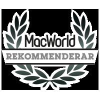 MacWorld rekommenderar
