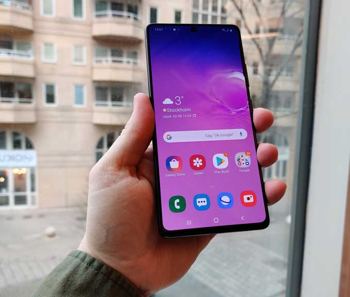 Samsung Galaxy S10 Lite One UI