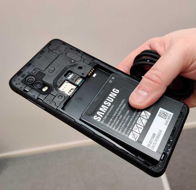 Galaxy Xcover Pro batteri