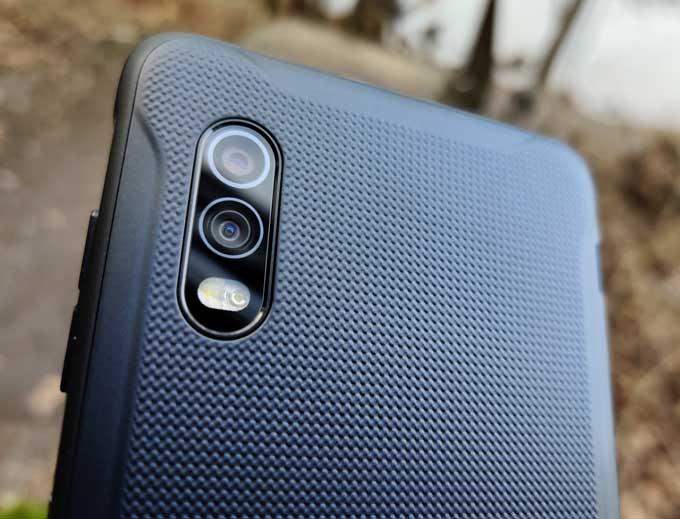 Galaxy Xcover Pro kameror