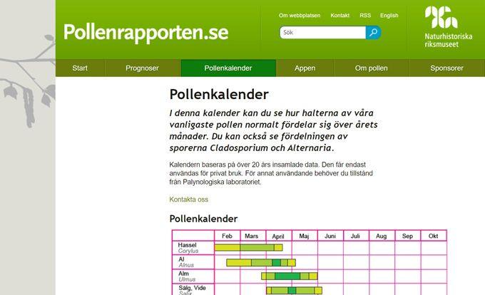 Pollenrapporten
