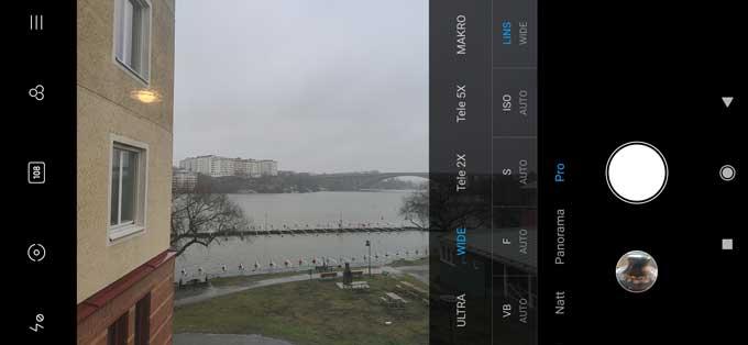 Xiaomi Mi Note 10 Pro kameraapp