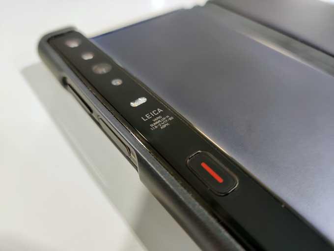 Huawei Mate Xs kameror
