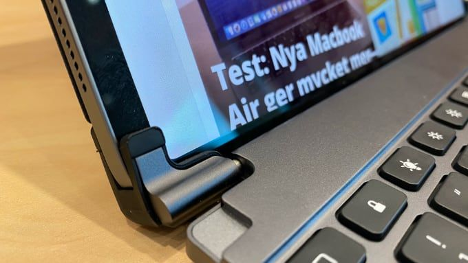 Brydge Pro nordiskt tangentbord
