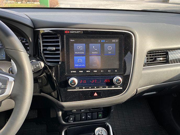 Test Mitsubishi Outlander phev 2020