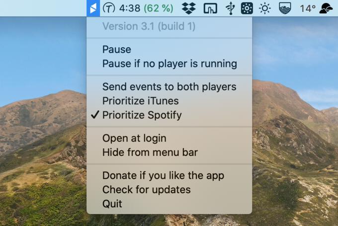 Mac Media Key Forwarder