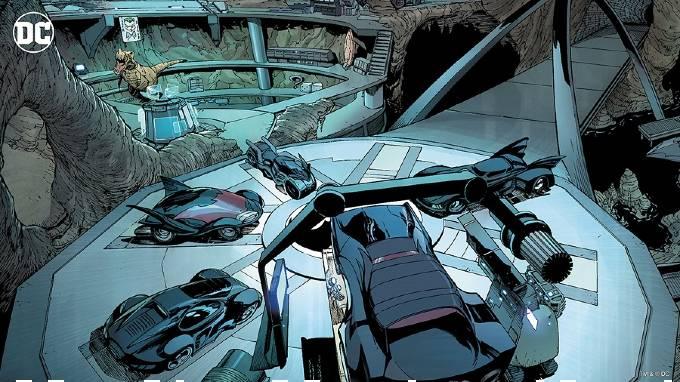 Batcave Zoom bakgrund