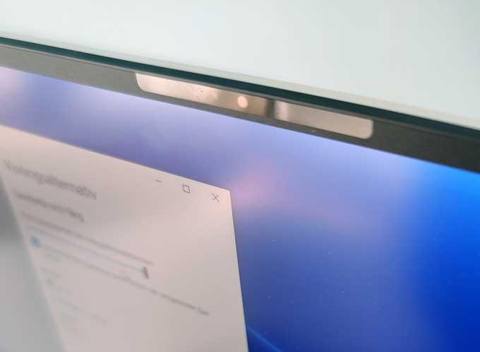 Dell XPS 13 9300 webbkamera