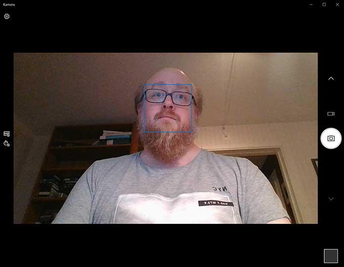 Matebook X Pro webbkamera