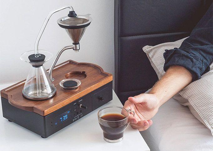 Väckarklocka kaffe