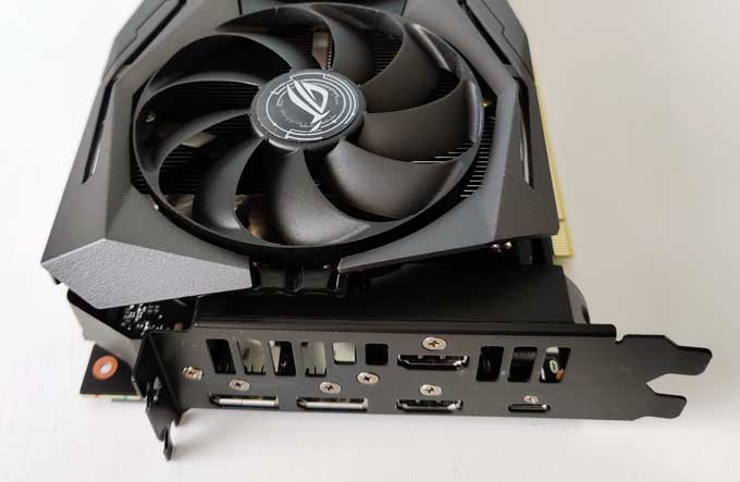 Asus GeForce RTX 2080 Super ROG Strix Gaming OC portar