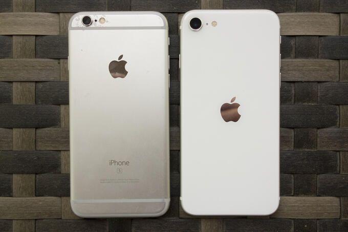 Iphone SE och Iphone 6