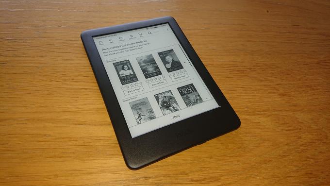 eboksläsaren Kindle 10