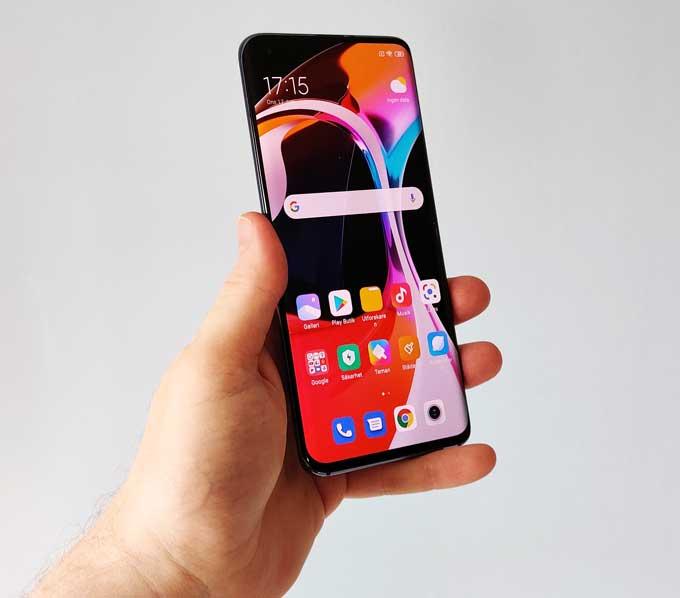 Xiaomi Mi 10 skärm,