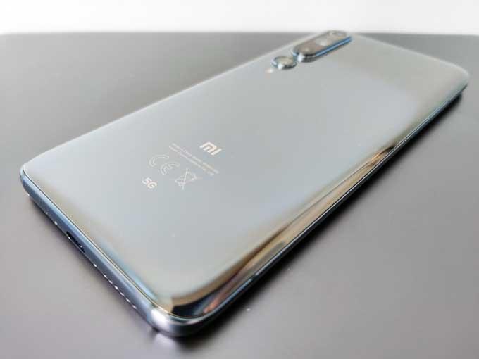 Xiaomi Mi 10 baksida