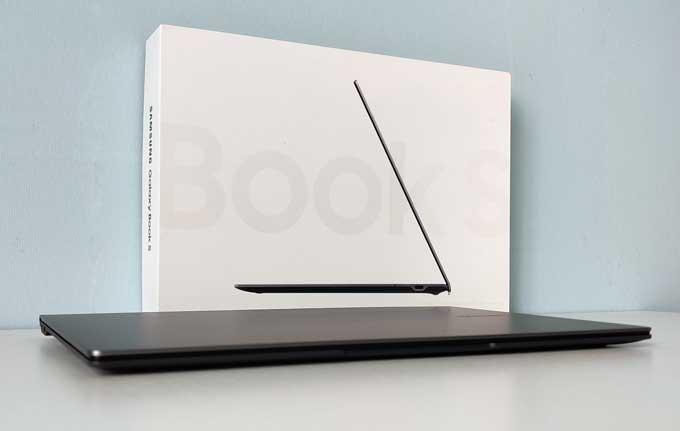 Galaxy Book S profil