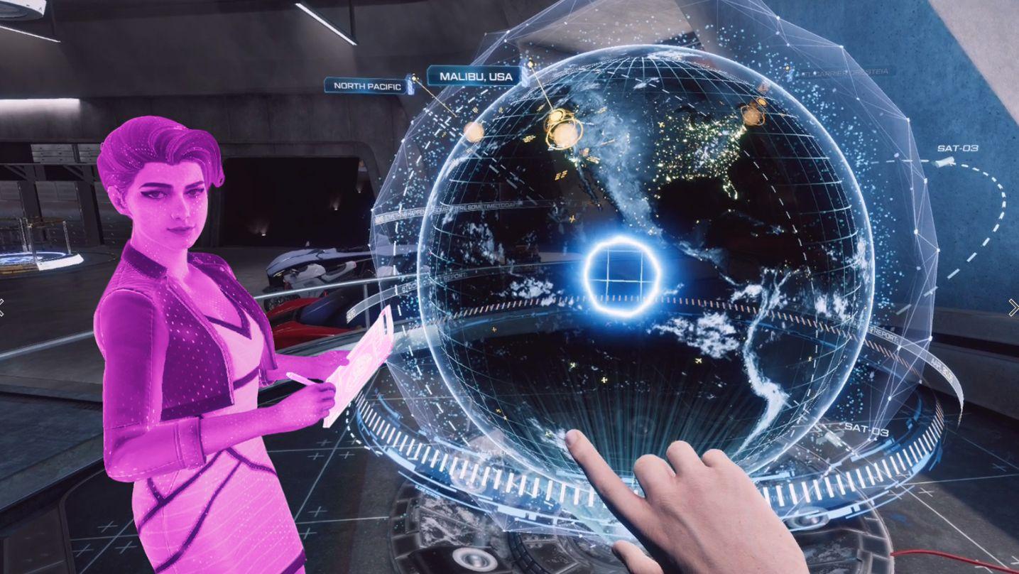 Iron Man VR välj nivå
