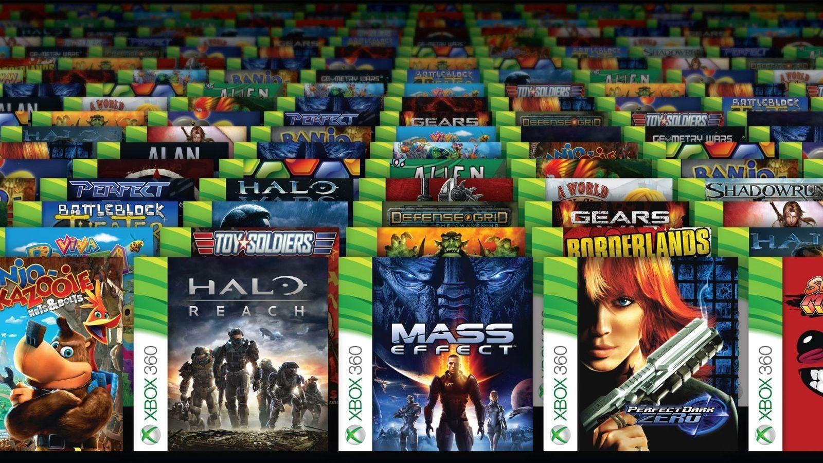 Xbox backwards compability