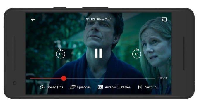 Snabba upp serie Netflix