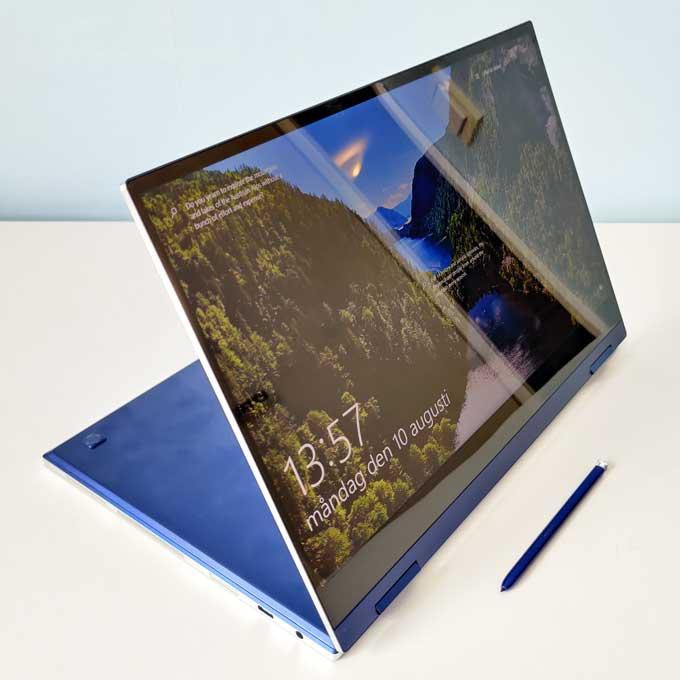 Galaxy Book Flex skärm