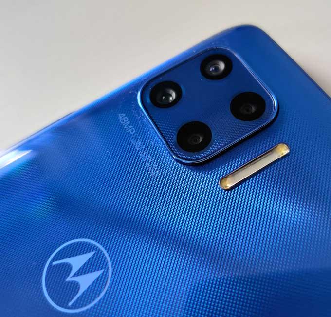 Moto G Plus 5G kameror